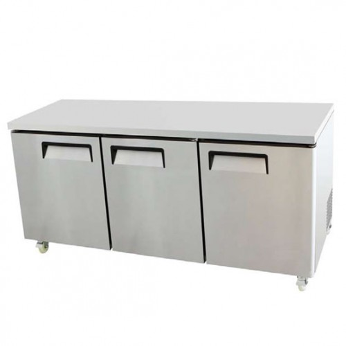Fischer Fridge For Sale - THREE DOOR BENCH FRIDGE - USC03-SS